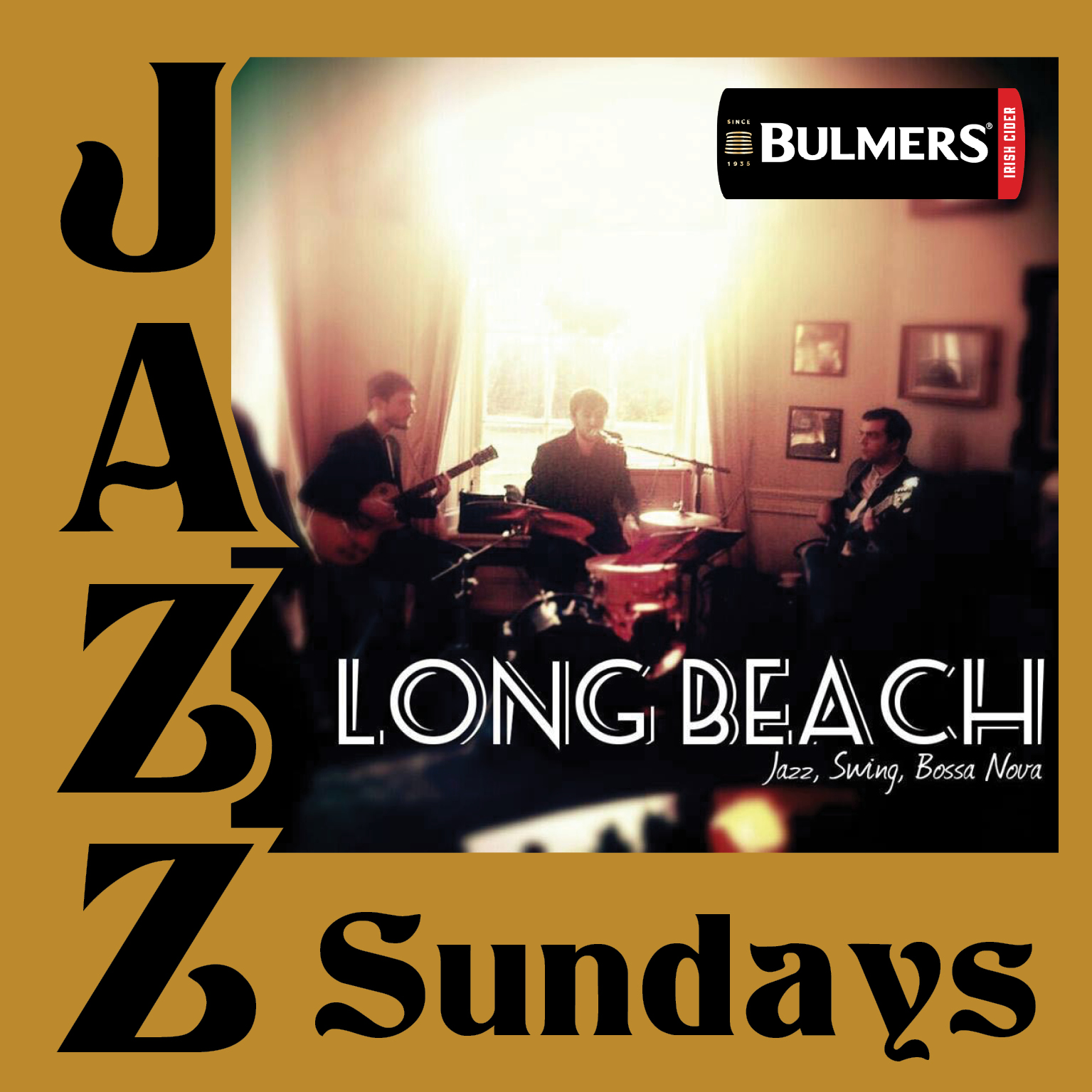 Pennyhill jazz nights in association with Bulmers. Enjoy jazz and swing every Sunday at Pennyhill.
