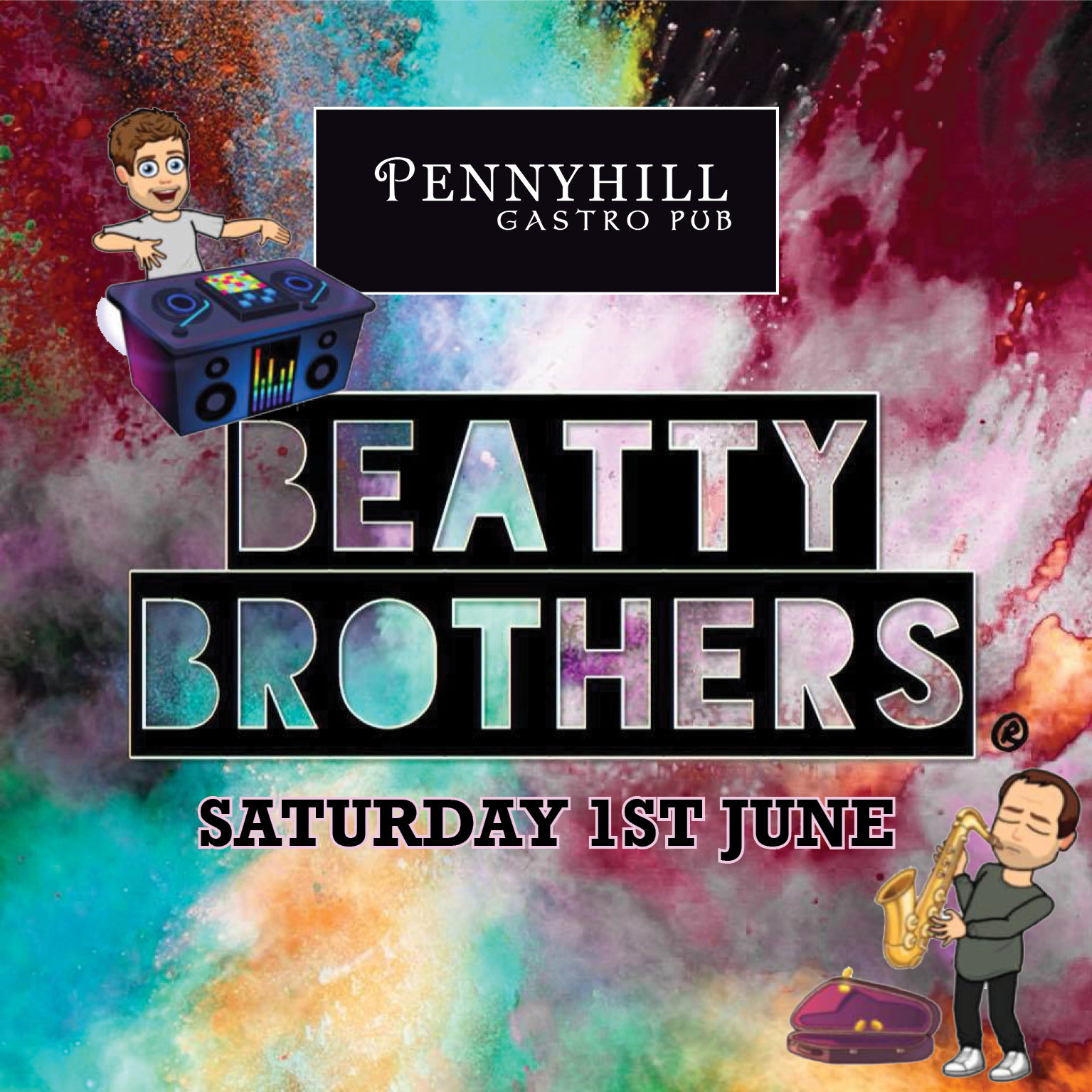 June Live Music at the Pennyhill. Featuring music from Beatty Brothers, Elvis Presley Tribute and Garth Brooks tribute.